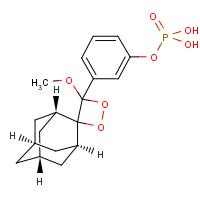 3-(2'-螺旋金刚烷)-4-甲氧基-4-(3-磷酰氧基)苯-1,2-二氧杂环丁烷(AMPPD)【122341-56-4】