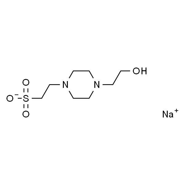 4-(2-羟乙基)-1-哌嗪乙烷磺酸半钠盐