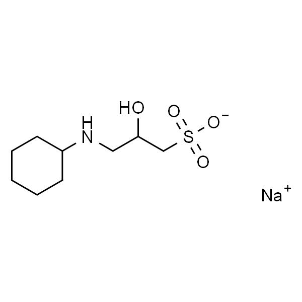 3-(环己氨基)-2-羟基-1-丙磺酸钠盐