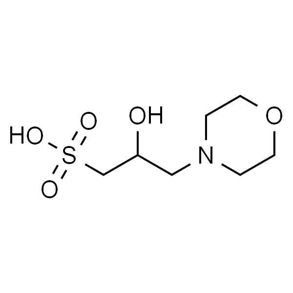 3-(N-吗啉)-2-羟基丙磺酸