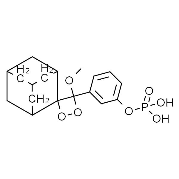 3-(2'-螺旋金刚烷)-4-甲氧基-4-(3-磷酰氧基)苯-1,2-二氧杂环丁烷