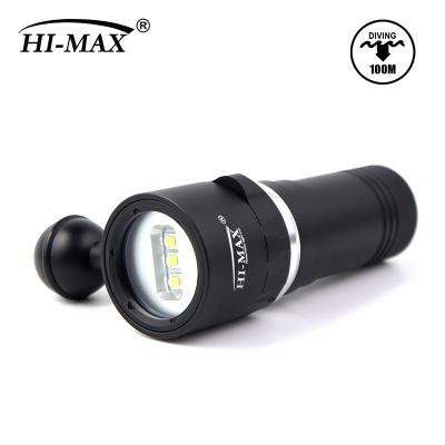 Hi-max V16 2000lumen video light with 3*U2 Led