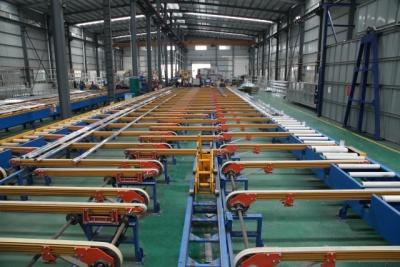 鋁型材擠壓輸送生產線