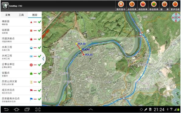 地理信息行业应用软件定制开发
