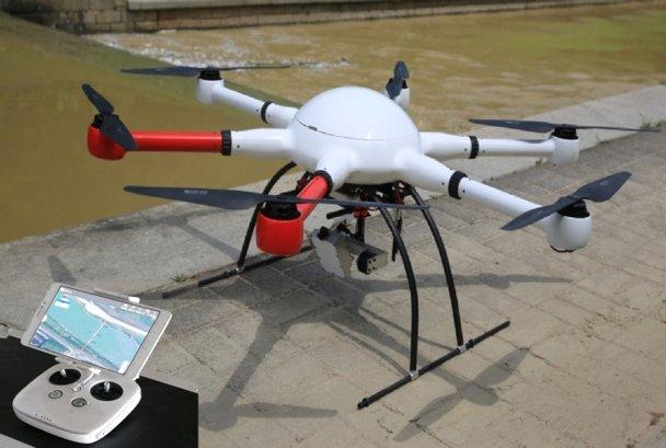 无人机水文测验系统