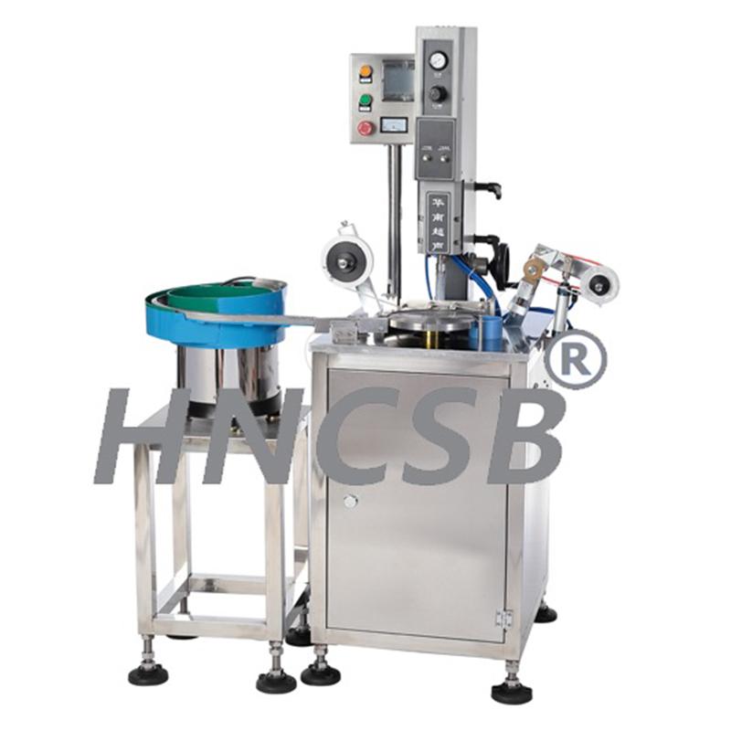 焊网机-喷雾泵超声波塑料焊接机