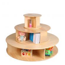 实木儿童书架