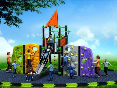 攀岩滑梯组合