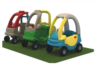 五彩环保塑料汽车