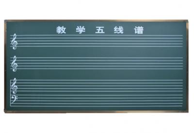 五线谱教学黑板