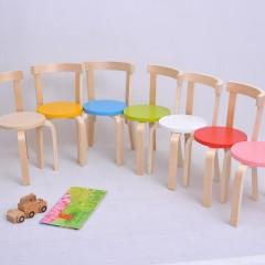 加厚儿童实木椅子