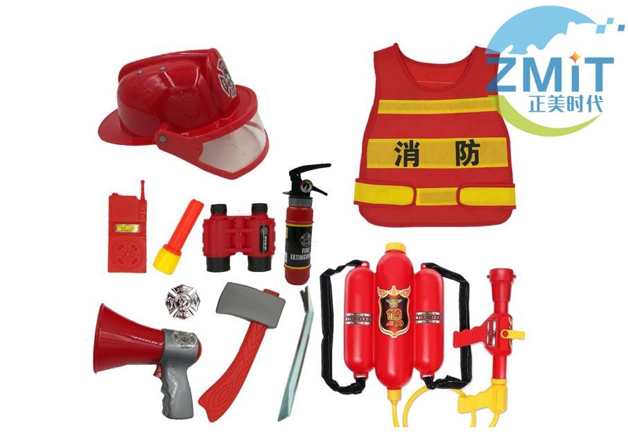 幼儿角色扮演-消防用具