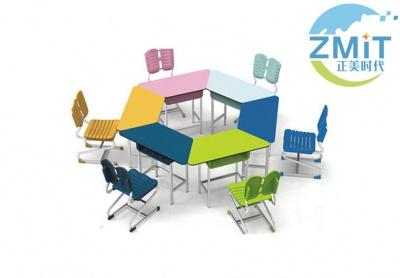 分组式拼接桌椅