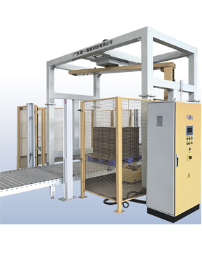 Automatic Rotary-arm Pallet Stretch Wrapper