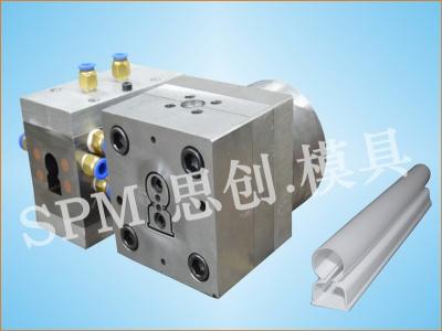 T5一体化双色管模具、T8一体化双色管、一体化双色管模具、后共挤双色管模具