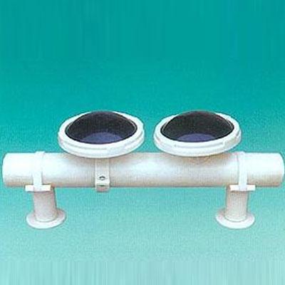 球冠形可張微孔曝氣器
