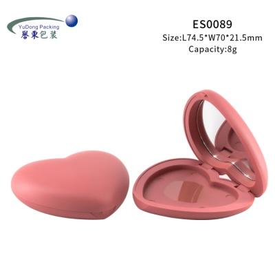 迷你可愛心形腮紅盒ES0089