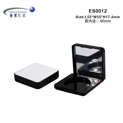 方形貼皮腮紅盒 ES0012