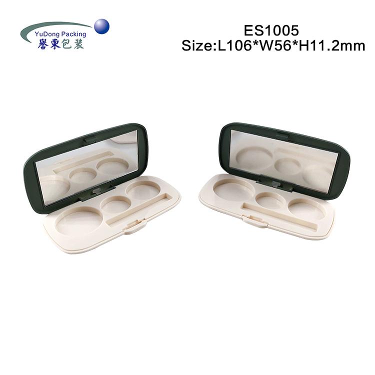 3色橢圓眼影盒 ES1005