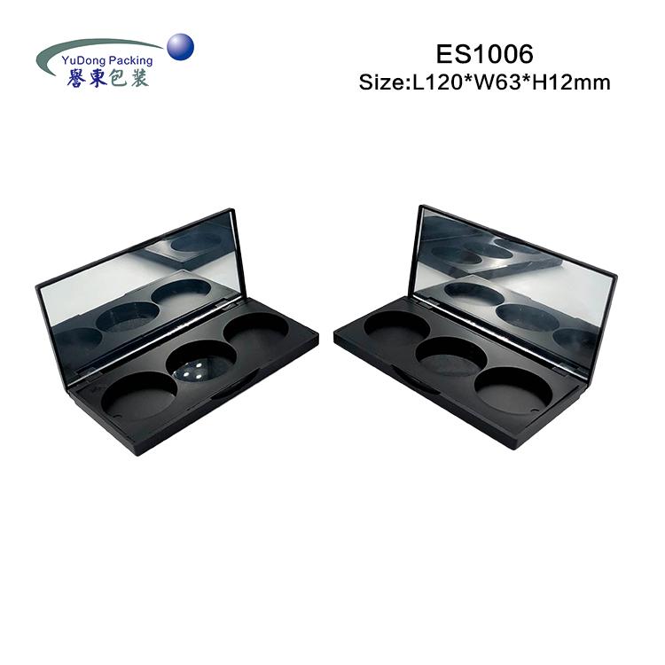 3色方形眼影盒 ES1006