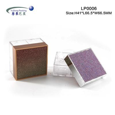 方形帶片散粉盒 LP0006