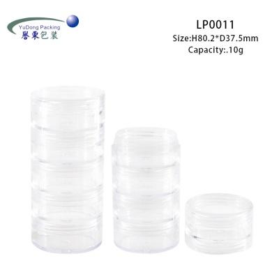 透明多層散粉盒 LP0011