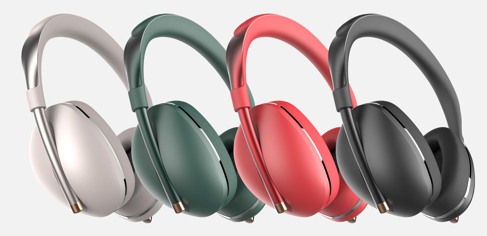 时尚数字降噪头戴耳机DH-005