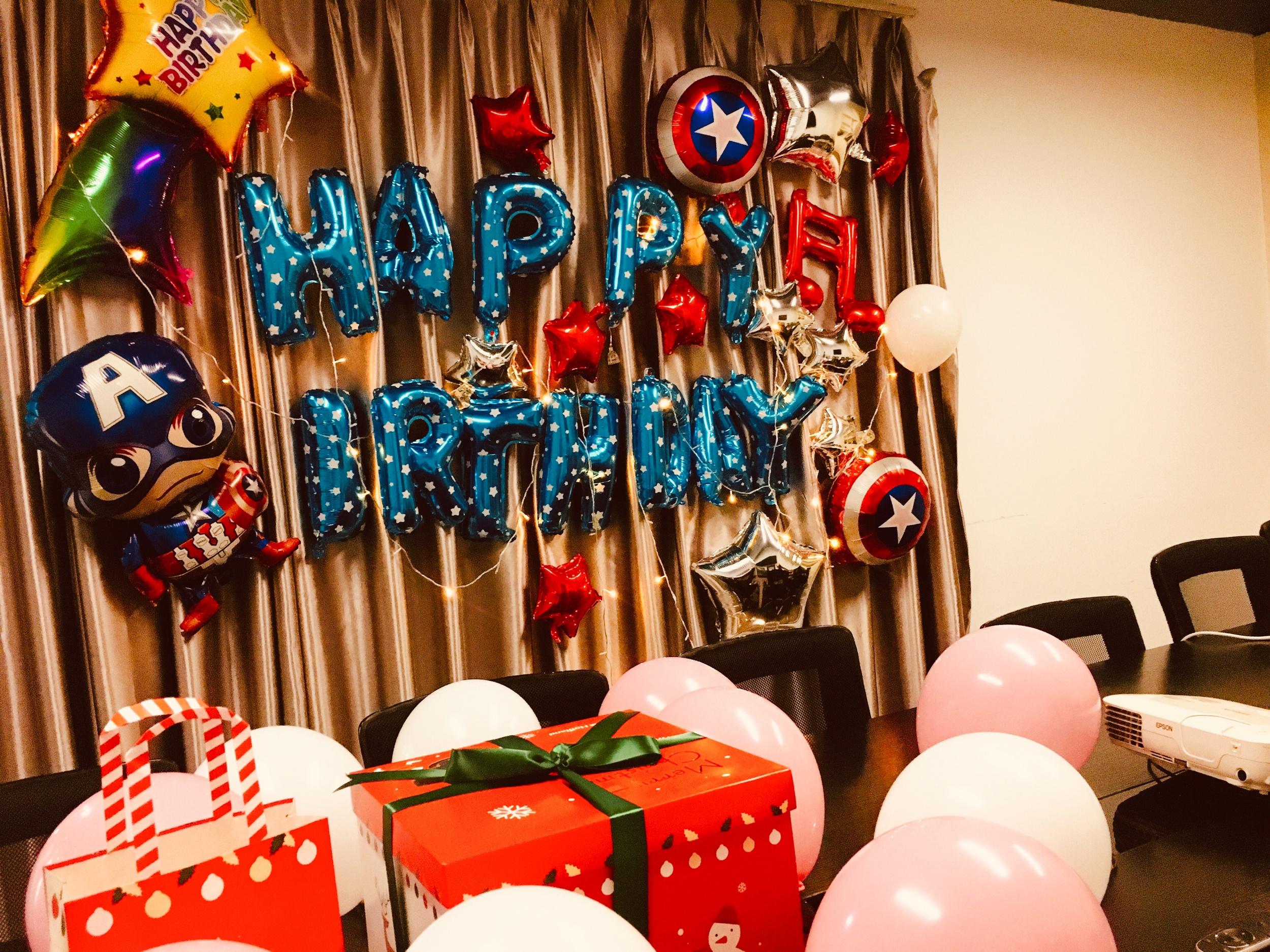 冬天~温暖的生日PARTY