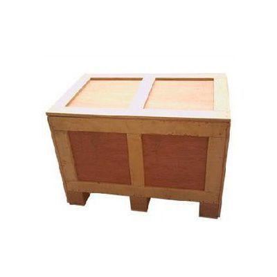 实木普通木箱