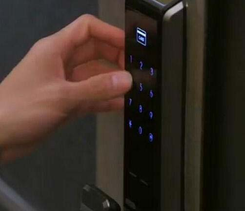 密码安装,密码锁开启