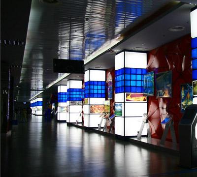 四川科技馆标识系统