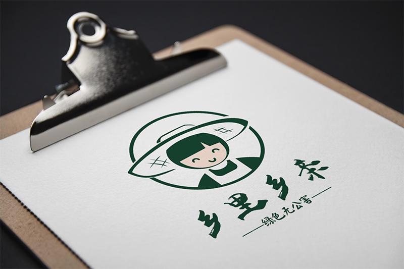 泸州绿色生态logo设计,泸州土特产LOGO设计土特产标志设计特产标志土特产LOGO