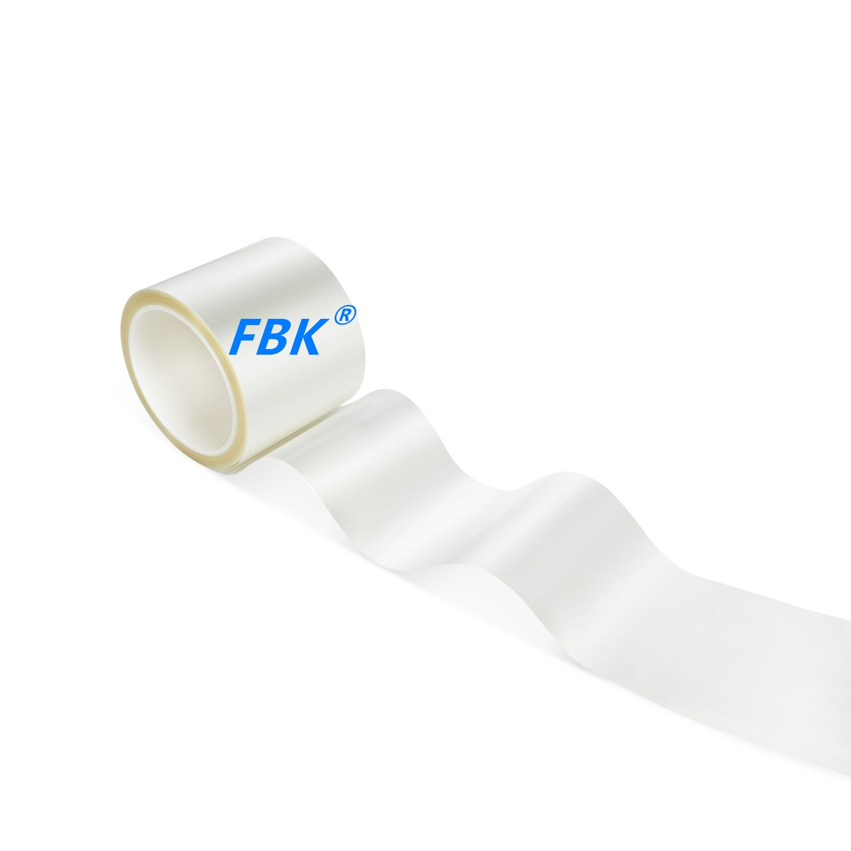 FBK 2.5D/3D蚀刻钢化膜去白边0.25mmAB胶原材料生产厂家 卷材批发