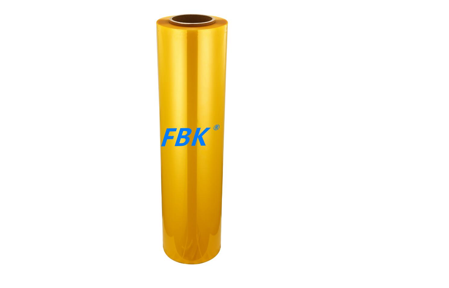 FBK 3D曲面屏手机 进口黄色TPU爽滑保护膜材料生产厂家  卷材批发