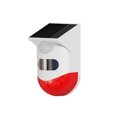 RF433 Solar Waterproof Siren Alarm