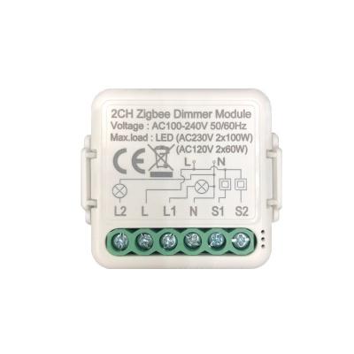 Zigbee Dimmer Module(1/2 gang)