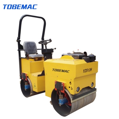 YZS13H Ride-on Double Drum Vibratory Roller