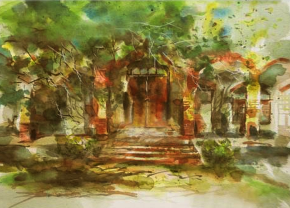 亚洲写生  Watercolor Painting in Asia
