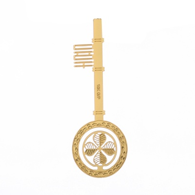 18K Gold Plated Bookmark card