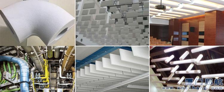 建筑吸音新材料-密胺泡绵(三聚氰胺泡沫塑料)-厦门思航纳米科技有限公司
