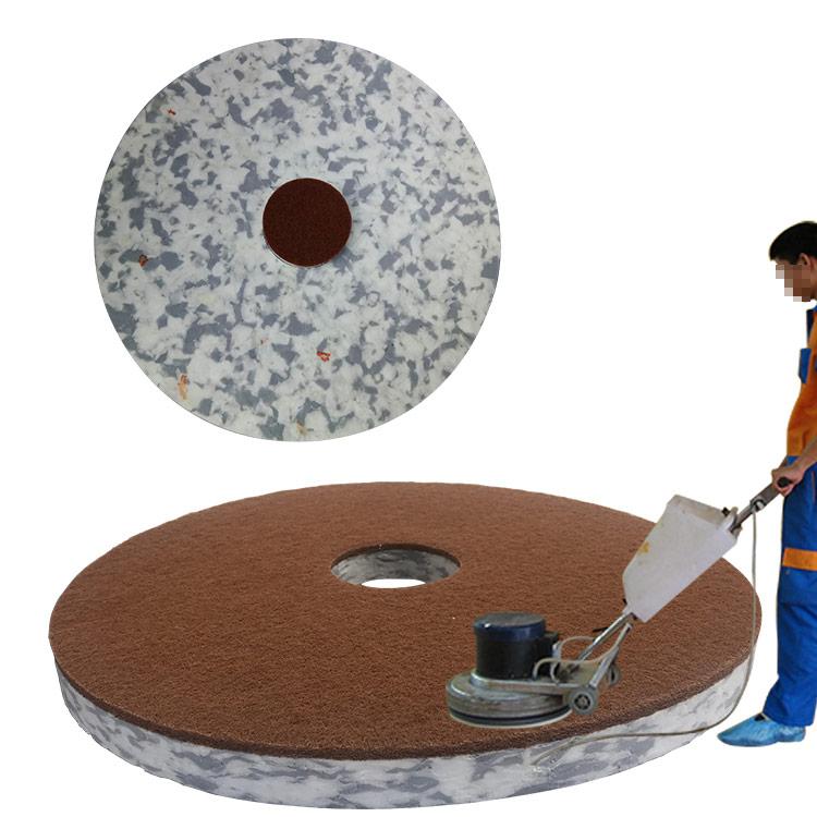 地板清洁垫新品-胶合密胺打磨圆盘-地面清洁抛光打磨垫