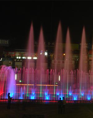 铜川广场喷泉项目