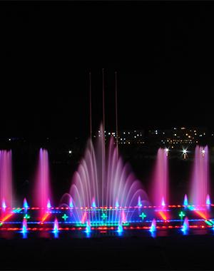 阿拉善大酒店喷泉项目