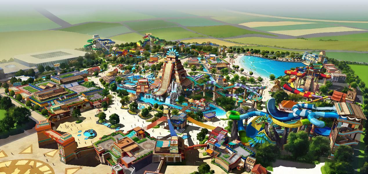西安欢乐谷5月开建!预计2021...