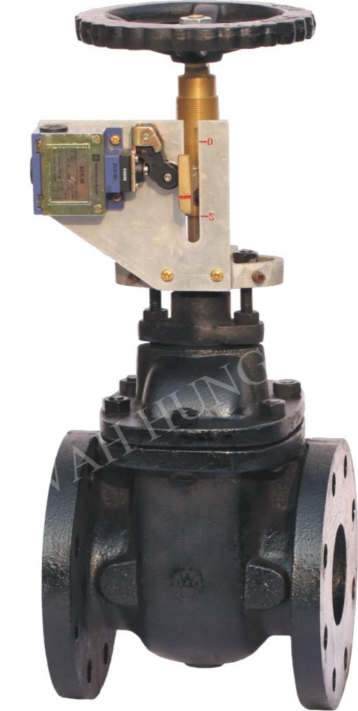 WH011 DZ45T系列鑄鐵信號閘閥