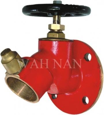 WH049 45度英式法蘭消火栓