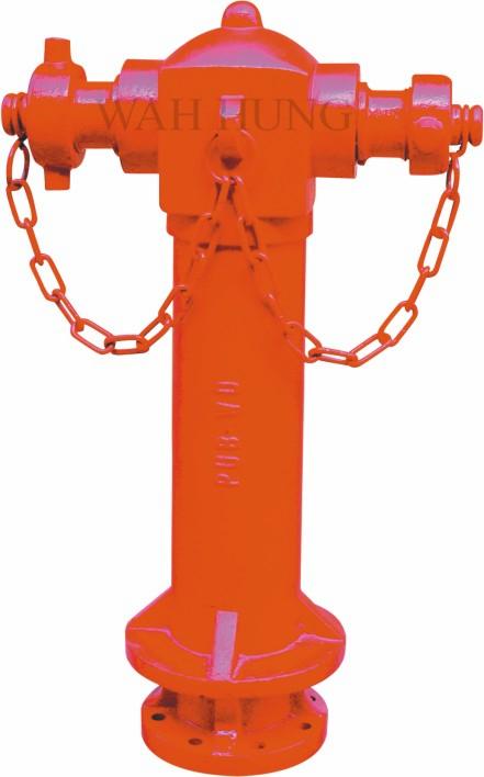 """WH022 4""""英式地上消火栓"""