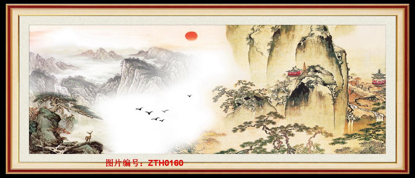 背景墙国画03