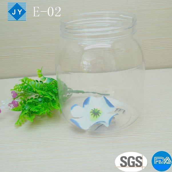 1000ml 32oz large pet Plastic Jar