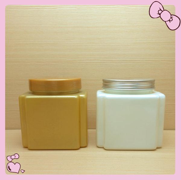 1000ml 32oz Square Plastic Storage Jars